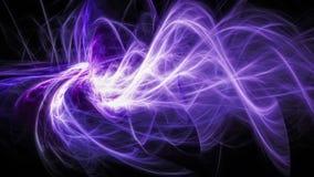 Abstrakt rörande glödande energi Royaltyfria Bilder