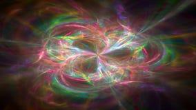 Abstrakt rörelsebakgrund, energivågor och blixt, i stånd sömlös ögla lager videofilmer