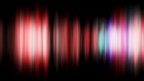 Abstrakt rörelsebakgrund, glänsande ljus, energivågor och partiklar, i stånd sömlös ögla kulöra lampor för abstrakt begrepp Royaltyfria Foton