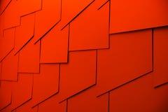 Abstrakt rött Arkivfoton