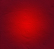Abstrakt rött papper med hjärtaformbakgrund Royaltyfri Bild