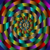 Abstrakt radialbakgrund Royaltyfri Fotografi