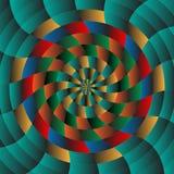 Abstrakt radialbakgrund Arkivbilder