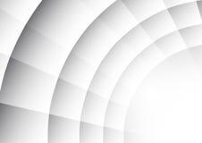 Abstrakt radie av cirkelbakgrund vektor illustrationer