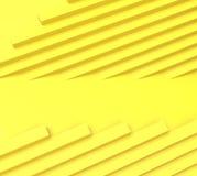 Abstrakt rakt geometriskt gult rytmbegrepp och bakgrund stock illustrationer