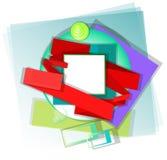 abstrakt ram Arkivbild
