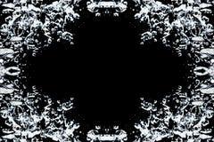 Abstrakt ram för designdrycker Royaltyfri Bild