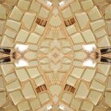 abstrakt ram med stycken av exponeringsglas som fästas i ljus - bruntfärger, bakgrund och textur Royaltyfria Foton
