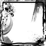 abstrakt ramgrunge Royaltyfri Foto