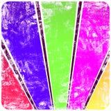 abstrakt ramgrunge rays s-sunväggen Arkivfoton