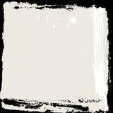 abstrakt ramgrunge Svart och beige bakgrundsmall vektor Royaltyfri Bild