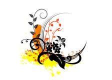 abstrakt ramvektor royaltyfri illustrationer