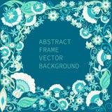 abstrakt ramvektor Arkivbild