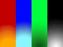 abstrakt rastrerade modeller vektor illustrationer