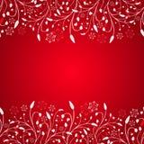 abstrakt röd bakgrundsjul Fotografering för Bildbyråer
