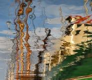 abstrakt reflexion royaltyfria bilder