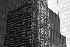 abstrakt reflexioner Royaltyfria Foton