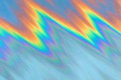 Abstrakt regnbågebakgrundspolyline Royaltyfri Foto
