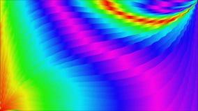 Abstrakt regnbågebakgrundsvideo arkivfilmer