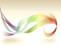 Abstrakt regnbågekrusidullbakgrund royaltyfri illustrationer