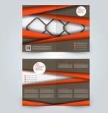 Abstrakt reklambladdesignbakgrund Denna är mappen av formatet EPS10 royaltyfri illustrationer