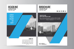 Abstrakt reklambladdesignbakgrund Denna är mappen av formatet EPS10 Royaltyfria Foton