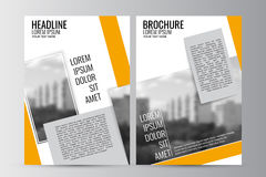 Abstrakt reklambladdesignbakgrund Denna är mappen av formatet EPS10 Royaltyfria Bilder