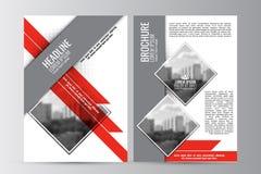 Abstrakt reklambladdesignbakgrund Denna är mappen av formatet EPS10 Royaltyfri Fotografi