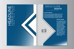 Abstrakt reklambladdesignbakgrund Denna är mappen av formatet EPS10 Arkivbilder