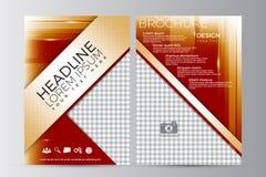Abstrakt reklambladdesignbakgrund Denna är mappen av formatet EPS10 Arkivfoto