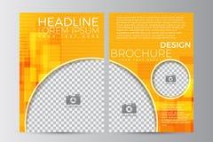 Abstrakt reklambladdesignbakgrund Denna är mappen av formatet EPS10 Royaltyfri Bild