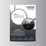 Abstrakt reklambladdesignbakgrund Denna är mappen av formatet EPS10 Arkivbild