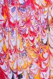 abstrakt retro designmålarfärg Royaltyfri Bild