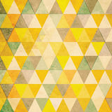 Abstrakt retro triangelbakgrund Royaltyfri Bild