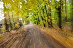 abstrakt ridning för snabb rörelse för blur Royaltyfria Foton