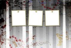 abstrakt rivna bakgrundsgrungeaffischer Royaltyfria Foton
