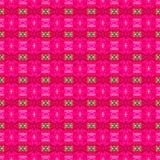 Abstrakt rosa bakgrund och färgrik sömlös modell Arkivfoton
