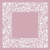 Blom- inrama Arkivfoto