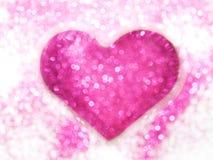 Abstrakt rosa bokeh arkivfoton