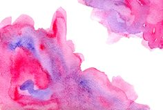 Abstrakt rosa purpel Royaltyfri Foto