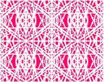 Abstrakt rosa sömlös modell för person som tillhör en etnisk minoritet för textil, keramiska tegelplattor eller bakgrunder vektor illustrationer