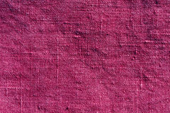 Abstrakt rosa textiltextur Arkivbilder