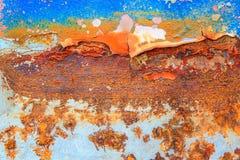 Abstrakt rostig metall för bakgrund Royaltyfria Foton