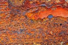 Abstrakt rostig metall för bakgrund Arkivfoto
