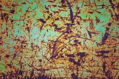 Abstrakt rostig metall för bakgrund Arkivfoton