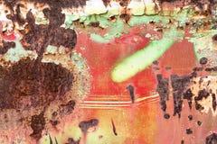 Abstrakt rostig metallbakgrund Fotografering för Bildbyråer