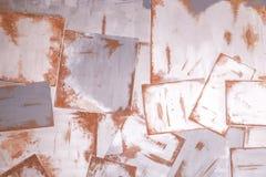 Abstrakt rostig metallplatta Royaltyfria Bilder