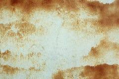 Abstrakt rostig metallyttersida Arkivfoto