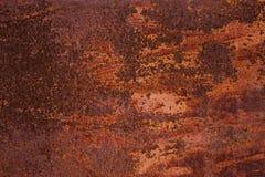 Abstrakt rostig metallyttersida Royaltyfri Fotografi