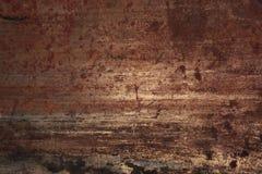 Abstrakt rostmetallbakgrund Fotografering för Bildbyråer